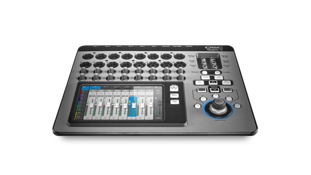 Save up to $500 on QSC Touchmix live mixers at Westlake Pro