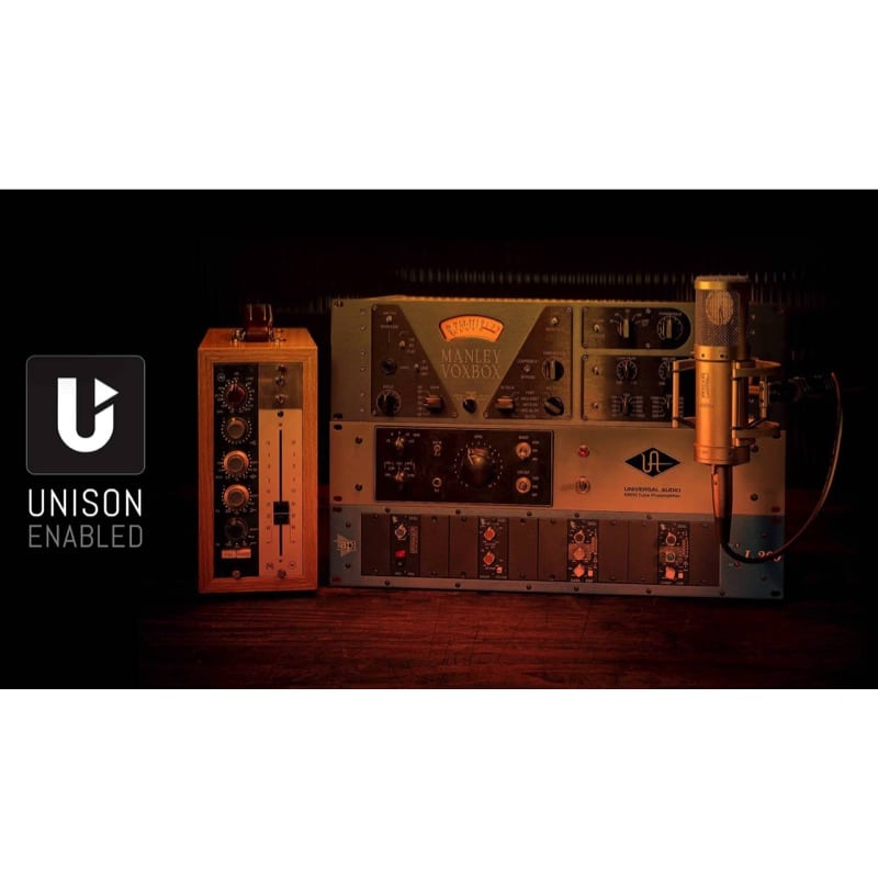 Unison Enabled Apollo Twin MKII