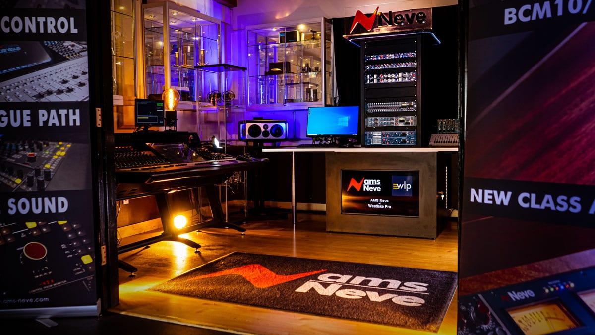 Westlake Pro's AMS Neve Showroom