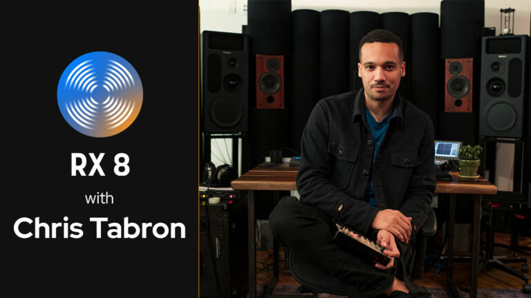 iZotope RX 8 Live with Chris Tabron